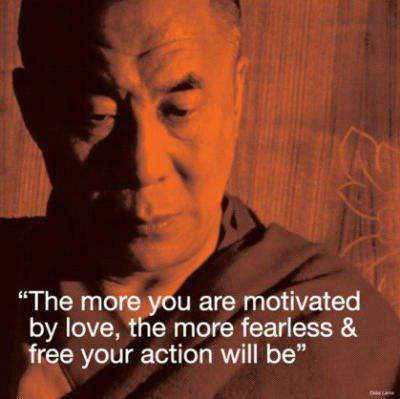 Dalai Lama Motivated Quote