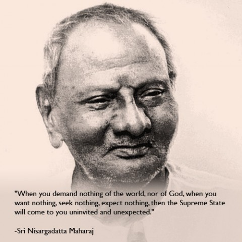 Sri Nisargadatta Maharaj Quote