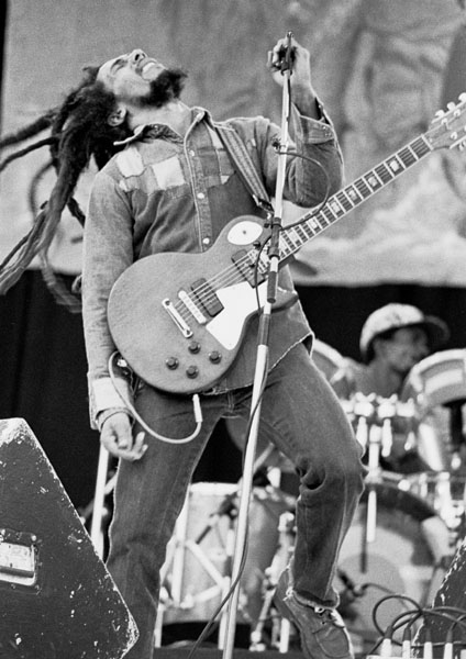 Bob Marley photo by Eddie Mallin