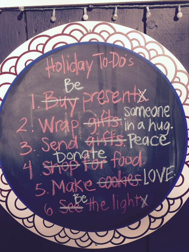 Holiday To-do List